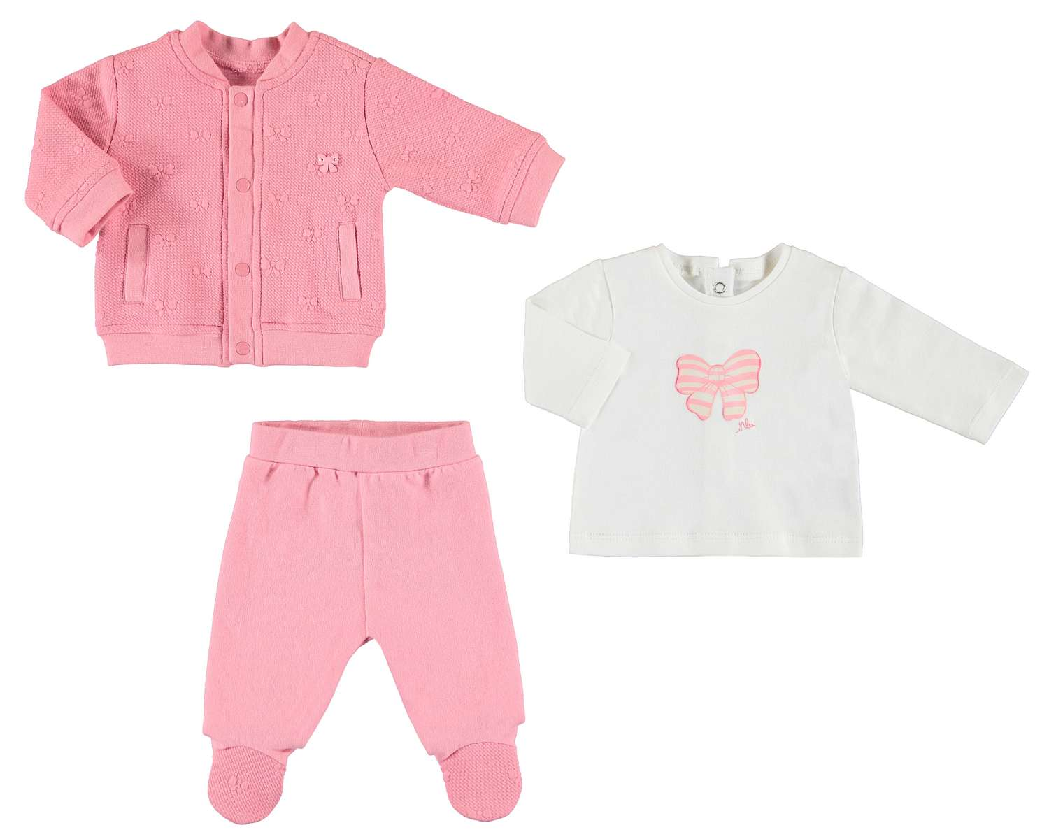 60fc53867f44a MAYORAL Newborn Baby Suit (SET 3 pieces) 2-4 months - My Special ...