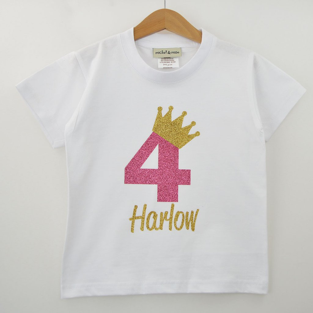 Personalized White T Shirt For KIDS